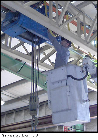 Crane and Hoist System services available at US Crane and Hoist, Inc.
